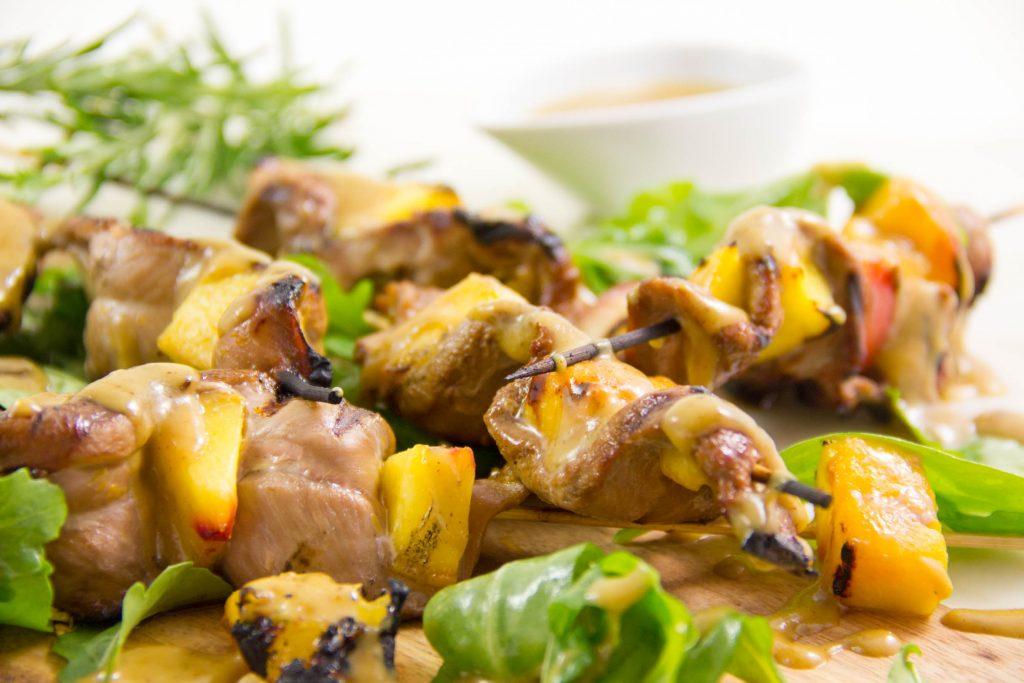 canard aux p234ches version barbecue les gourmantissimes