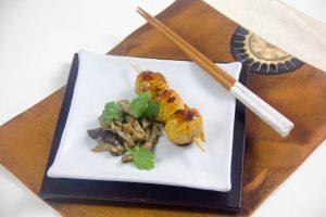 Yakitori à ma façon (Brochettes de poulet japonaises au barbecue)