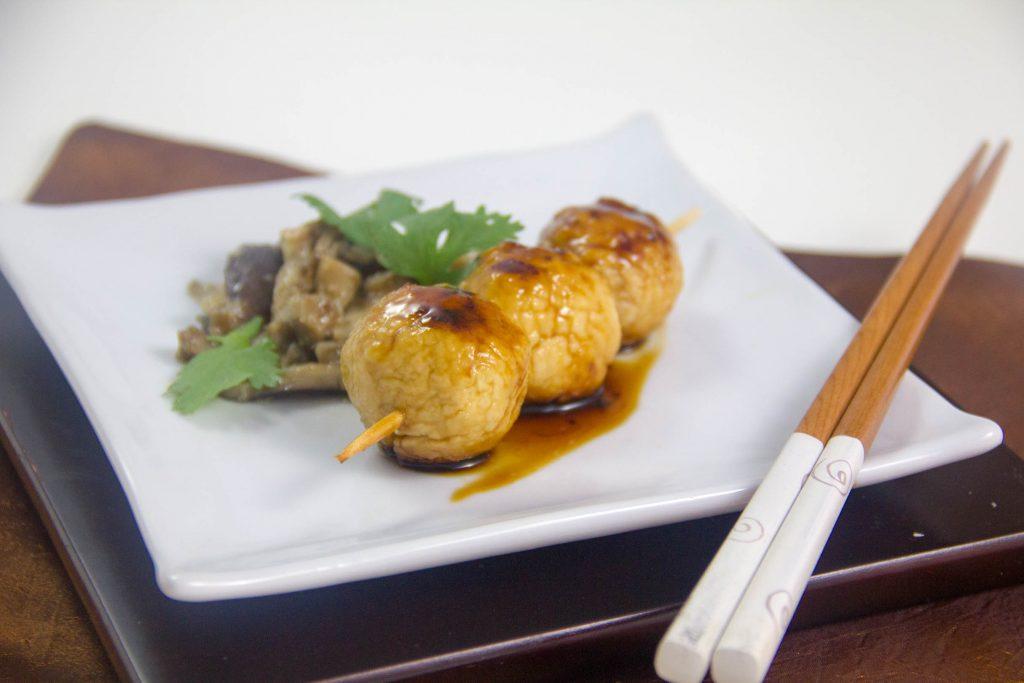 Yakitori à ma façon (Brochettes de poulet japonaises)