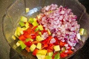 Versez le tout dans un saladier