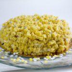 Le gâteau Mimosa