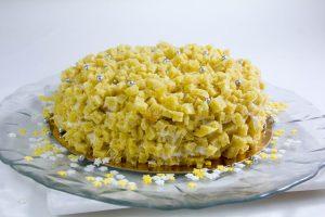 Le gâteau Mimosa (Épreuve de Mercotte, Le meilleur Pâtissier)