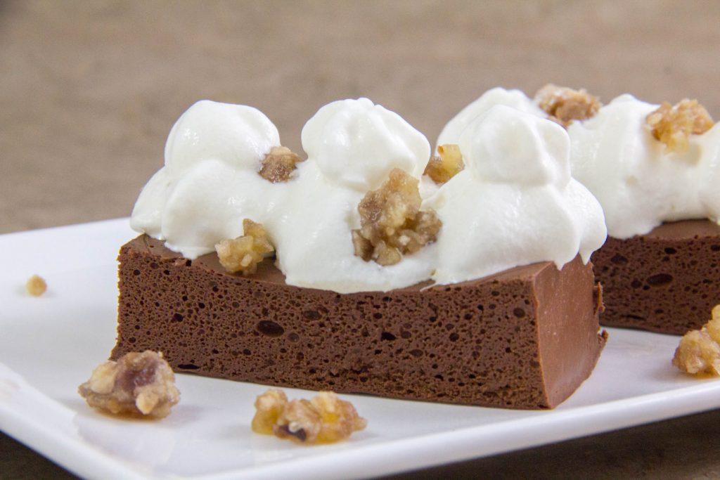 Gâteau au chocolat sans cuisson de Thierry Marx