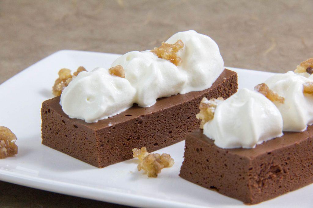 Gâteau aérien au chocolat sans cuisson de Thierry Marx