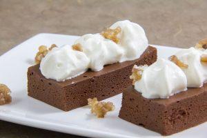 """Gâteau aérien au chocolat sans cuisson de Thierry Marx (Emission """"Les carnets de Julie""""). Recette en vidéo"""