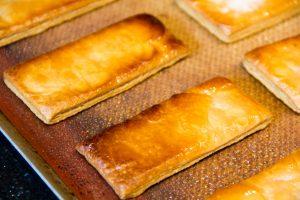 Rectangle de pâte feuilletée