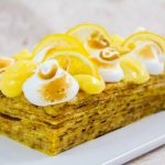 Gâteau de crêpes façon tarte au citron