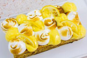 Puis décorez avec quelques tranches de citron confit
