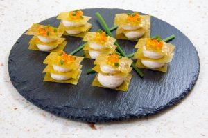 Croquants gourmands de saumon