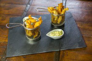 Croquettes de sole sauce gribiche