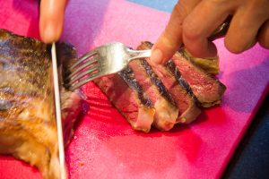 Tranchez la viande