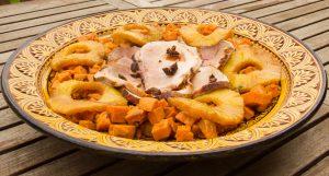 Jambon antillais à l'ananas et aux épices, basse température