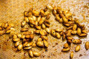 Les graines sont bien rôties
