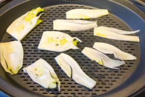 Coupez le bulbe de fenouil en tranches fines