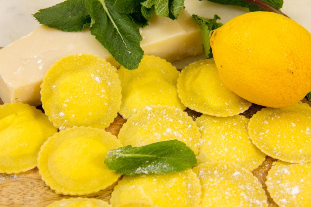 Ravioles aux trois fromagesdu chef Zanoni