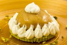 Tartelettes sablées, pommes et cardamome (dessert basse température)