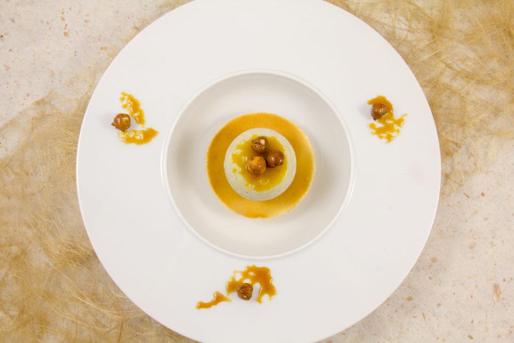 Nid d'abeille (glace miel et romarin)