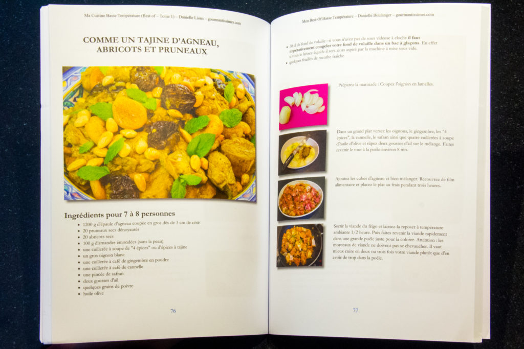 Verso-recto - Ma Cuisine Basse Température - Best of - Tome 1