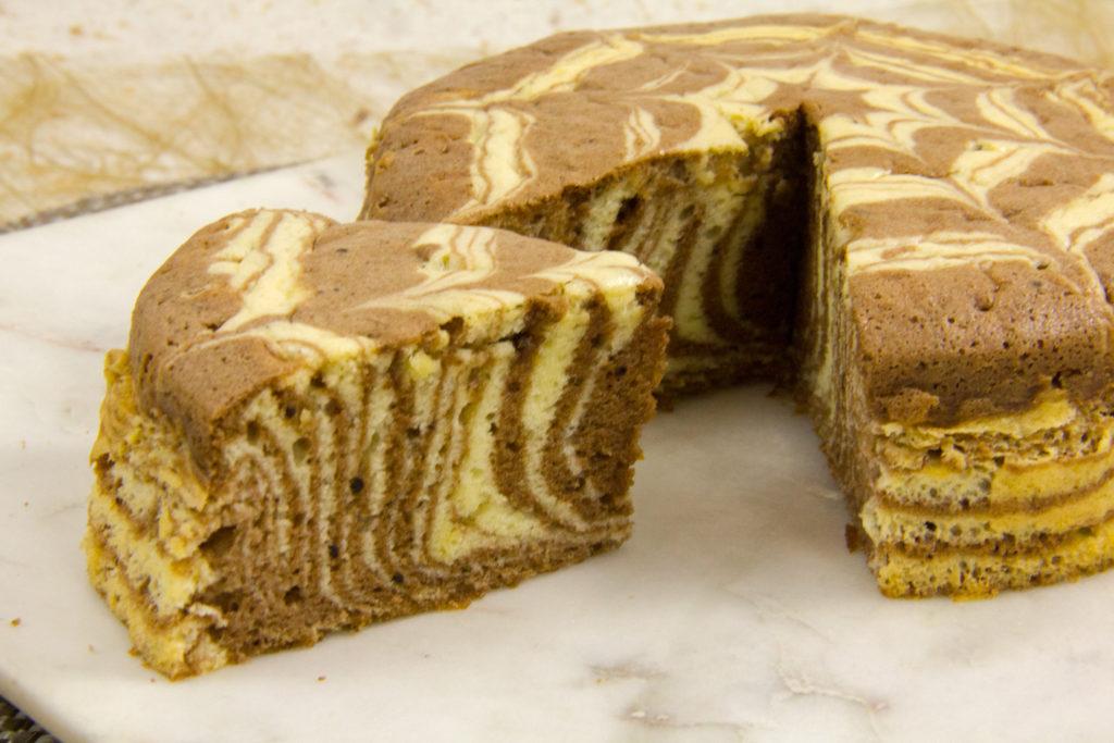 Mon étoile marbré (Épreuve de Cyril Lignac, Le Meilleur pâtissier, les gâteaux marbrés)