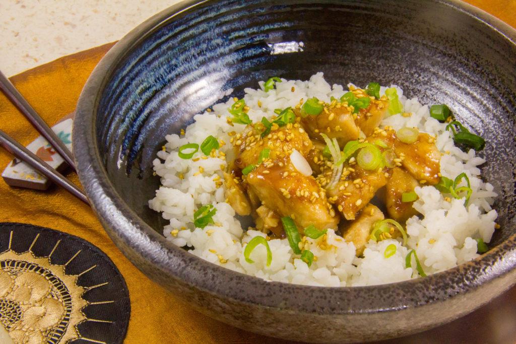 Poulet laqué à la mode japonais (recette basse température)