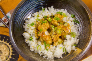 Poulet laqué à la mode japonaise (recette basse température)