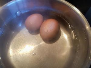 Faites cuire les œufs