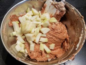 Et on finit avec les morceaux de poires