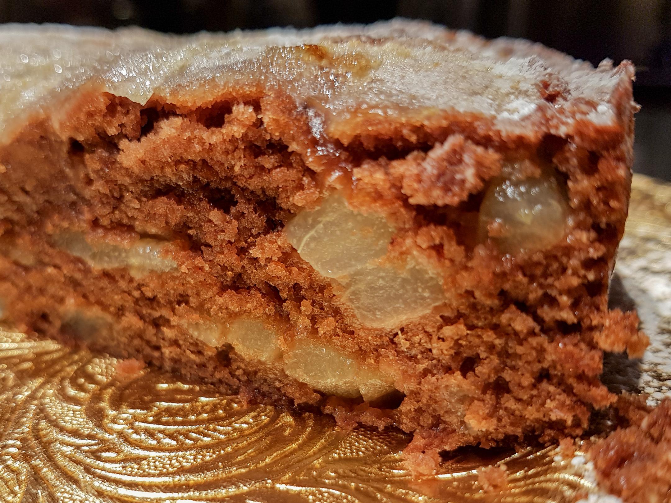 G teau moelleux poires et chocolat archives les - Ecole de cuisine thermomix ...