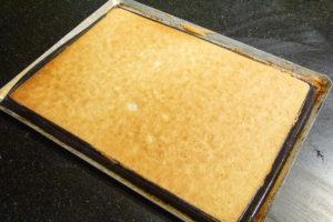 Enfournez le biscuit à 180° pendant 6 à 8 minutes