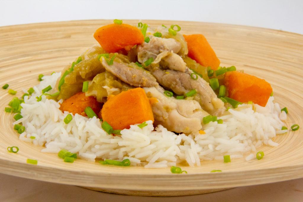Poulet Yassa (recette basse température)