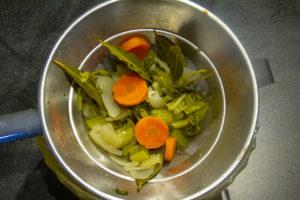 Filtrez votre bouillon de légume