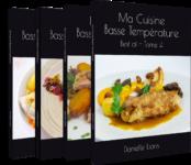 """Le Tome 4 de ma collection """"Ma cuisine basse température"""" vient de paraître!"""