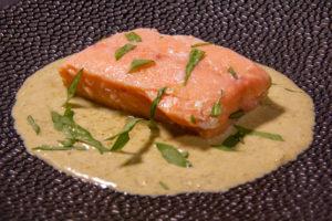 Saumon à l'oseille (recette Thermomix)