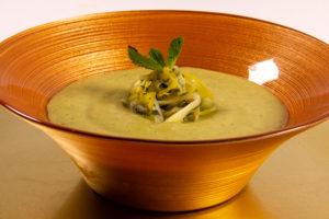 Soupe Poireaux Menthe (Thermomix)