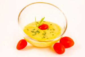 Gaspacho tomate ananas estragon (recette Thermomix)